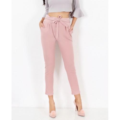 Skinny kelnės su kišenėmis