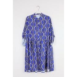 Suknelė su grandinių printu