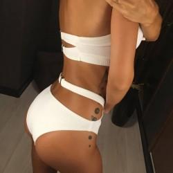 Maudymosi kostiumėlis WHITE