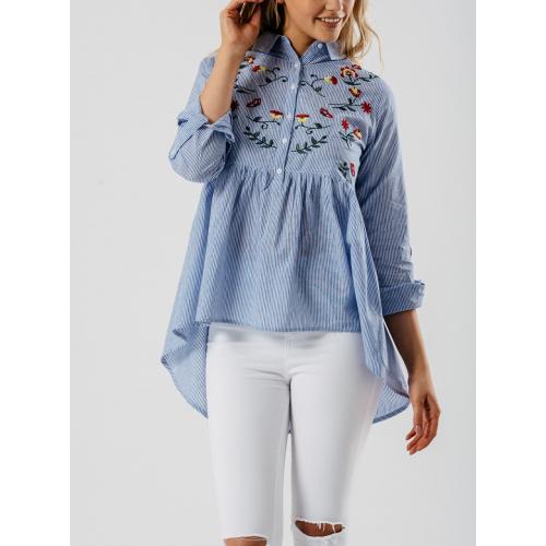 Marškiniai su išsiuvinėjimais