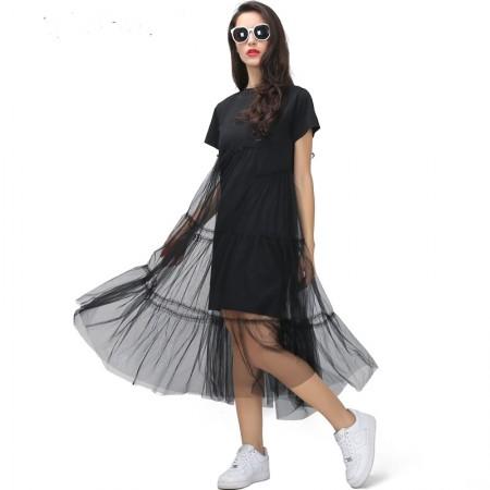 Suknelė su tiuliu