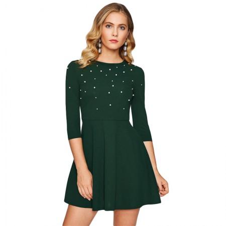 Suknelė su perlais