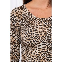 Leopardinė suknelė