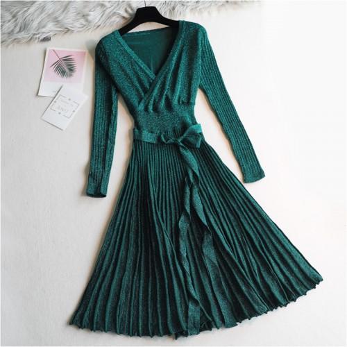 Suknelė su lurekso siūlais