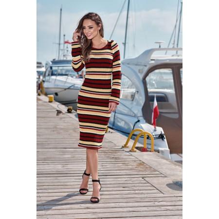 Aptempta suknelė
